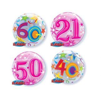 Aged birthday bubbles
