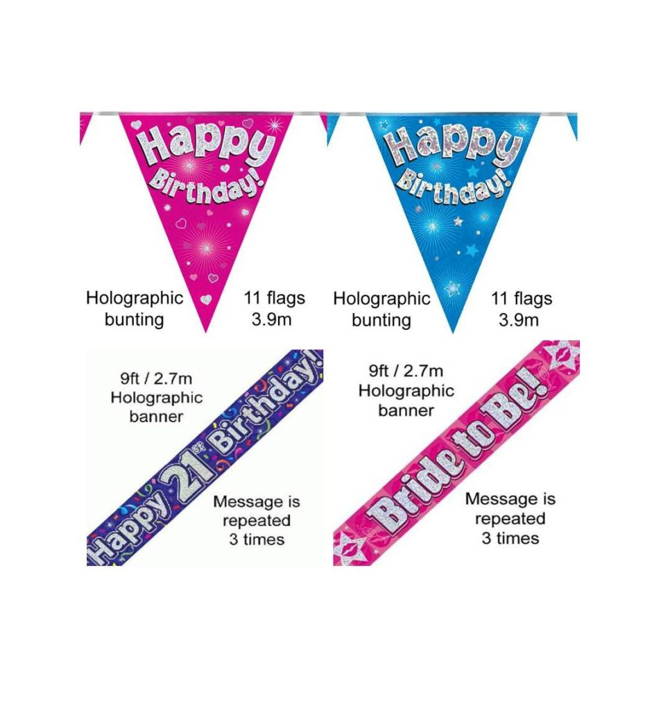 Banners, Bunting and Streamers