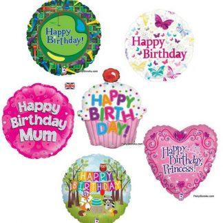 General birthday foils