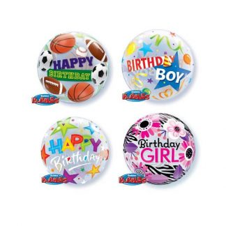 General birthday bubbles