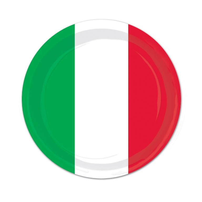 Red white u0026 green dinner plates  sc 1 st  Partystore4U & Red white u0026 green dinner plates - Party Store 4 U
